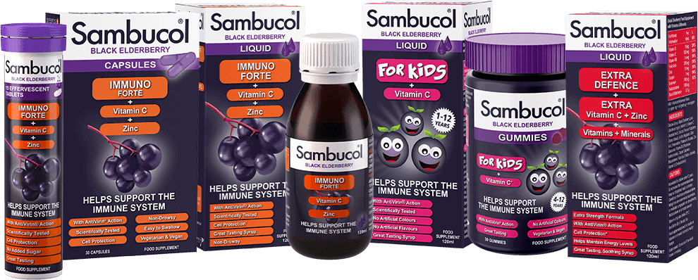 About Sambucol | Immune Support | Sambucol® Black Elderberry