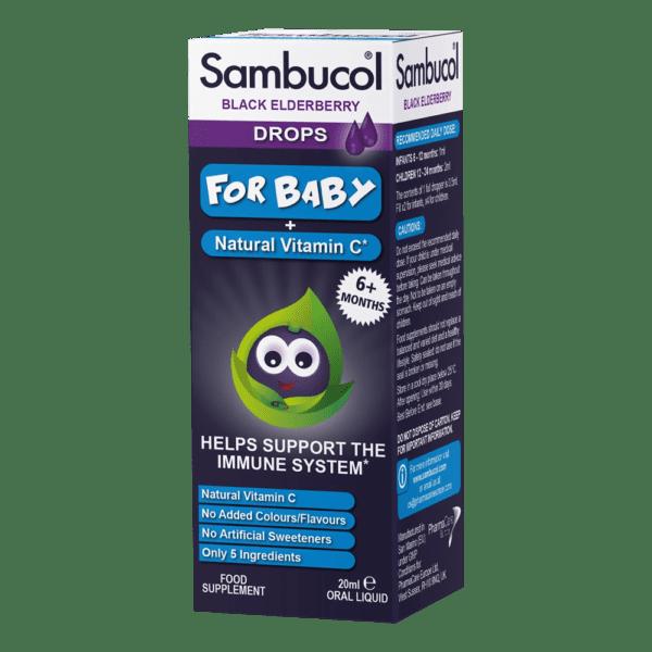 Sambucol Babydrops Bottle