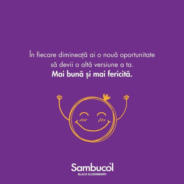 Un set de gânduri pozitive și potrivite în fiecare dimineață, ne pot ajuta să devenim, încetul cu încetul, o versiune mai bună a noastră, cu fiecare zi care trece. La fel se întâmplă și cu Sambucol! Consumat zilnic, acesta întărește și ajută la susținerea sistemului imunitar pe întreg parcursul anului. 💜 _____ #sambucol #sambucolromania #sambucolro #sistemimunitar #sistemimunitarputernic #imunitate #imunitatecopii #imunitatecrescuta #imunitateafamiliei #socnegru #pozitivitate #ganduripozitive #romania