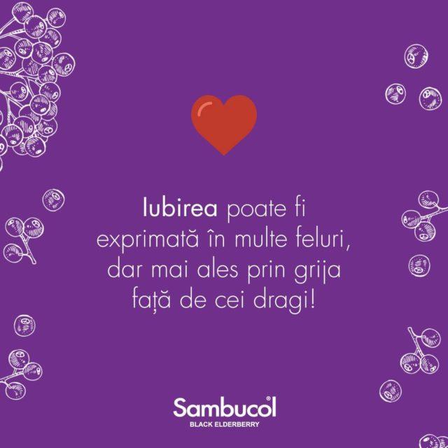 Cel mai frumos mod de a ne arăta dragostea față de cei dragi este să avem grijă de ei, să-i ascultăm, să-i înțelegem și să-i protejăm!Iar imunitatea lor o protejăm cu Sambucol! 💜_____#sambucol #sambucolromania #sambucolro #sistemimunitar #sistemimunitarputernic #imunitate #imunitatecopii #imunitatecrescuta #imunitateafamiliei #socnegru #antioxidanti #natural #vitaminac #zinc #romania