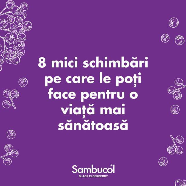 Drumul către o viață mai sănătoasă poate fi început și cu pași mici. Lucruri atât de simple și la îndemână precum 20 de minute de mers pe jos zilnic, consumul de mai multă apă sau consumul de Sambucol zilnic ne pot schimba viața radical.Challengul de săptămâna aceasta este să adoptați cât mai multe dintre aceste schimbări! 💜#sambucol #sambucolromania #sambucolro #sistemimunitar #sistemimunitarputernic #imunitate #imunitatecopii #imunitatecrescuta #imunitateafamiliei #socnegru #antioxidanti #natural #vitaminac #zinc #antioxidantinaturali #mamasicopilul #mamasibebe #copiisimamici #copiisanatosi #copiifericiti #romania