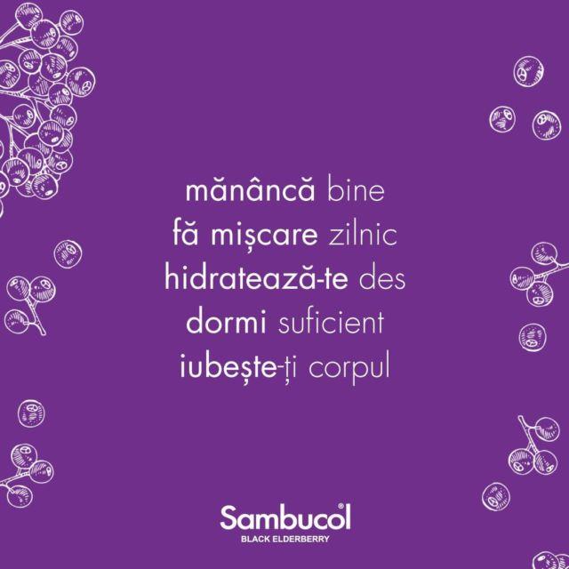 E timpul pentru gândul săptămânii! Un gând care trebuie să fie aplicat în fiecare zi! 💜#sambucol #sambucolromania #sambucolro #sistemimunitar #sistemimunitarputernic #imunitate #imunitatecopii #imunitatecrescuta #imunitateafamiliei #socnegru #antioxidanti #natural #vitaminac #zinc #antioxidantinaturali #mamasicopilul #mamasibebe #copiisimamici #copiisanatosi #copiifericiti #mama #copiisimamici #motivatie #rabdare #incredere #manancabine #famiscare #hidrateaza_te #dormi #iubeste_te