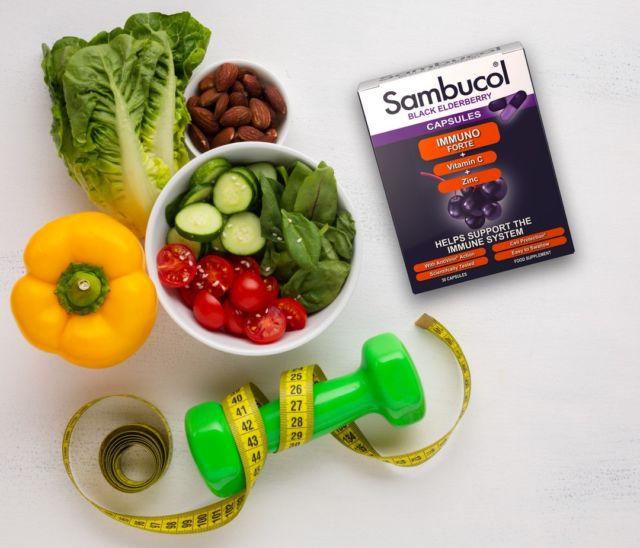 🥗 Este #important să nu ne mai uităm la mâncarea sănătoasă precum la o #dietă. Pe lângă faptul că ne ajută să ne păstrăm în formă și să ne simțim bine, alimentele sănătoase sunt cele care ne păstrează imunitatea crescută. 💜 Adaugă în #rutina ta zilnică și capsulele Sambucol pentru un plus de energie și pentru o mai bună funcționare a sistemului tău imunitar pe tot parcursul anului. #sambucol #sambucolromania #sambucolro #sistemimunitar #sistemimunitarputernic #imunitate #imunitatecopii #imunitatecrescuta #imunitateafamiliei #socnegru #antioxidanti #natural #vitaminac #zinc #antioxidantinaturali #raceli #racelisezoniere #romania